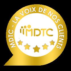 Badge la voix de nos clients, un module spécialisé dans les avis du domaine de la satisfaction Client.