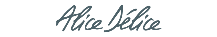 Logo de l'entreprise Alice Délice destiné à montrer qui sont nos clients dans le domaine de la Satisfaction Client.